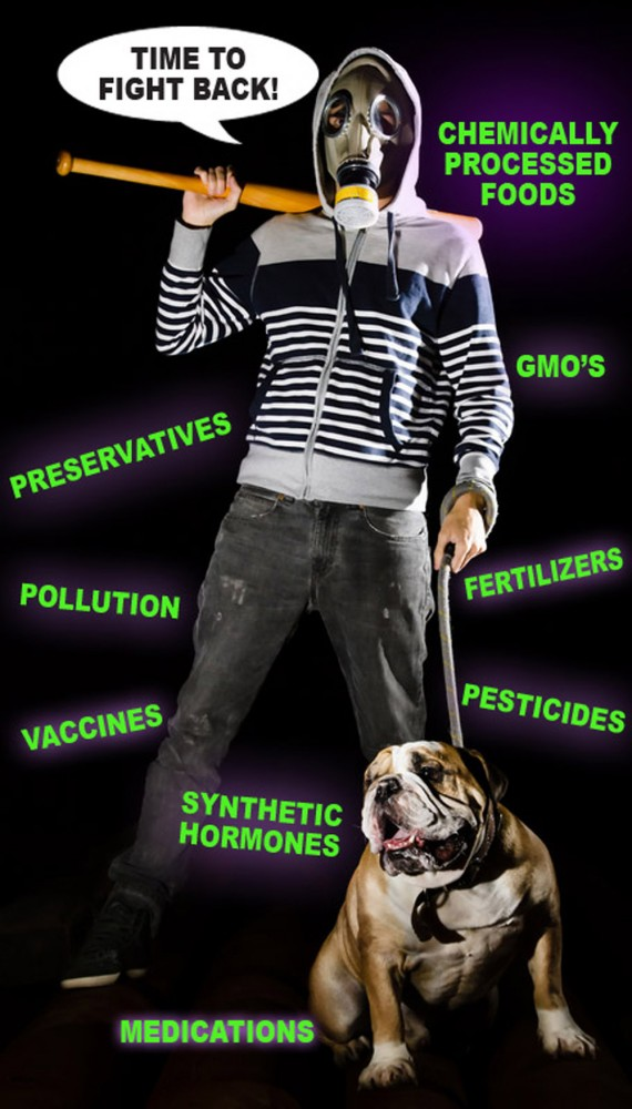 http://www.dreamstime.com/royalty-free-stock-photography-man-dog-gas-mask-image40333287